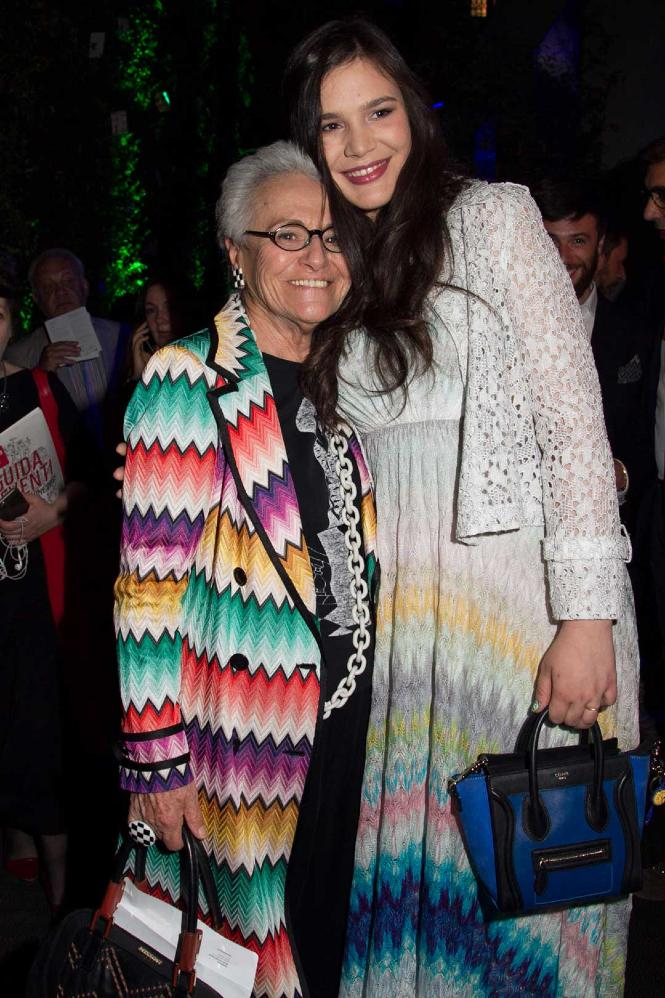 Rosita Missoni and Teresa Maccapani Missoni