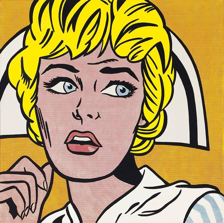 Roy Lichtenstein Nurse