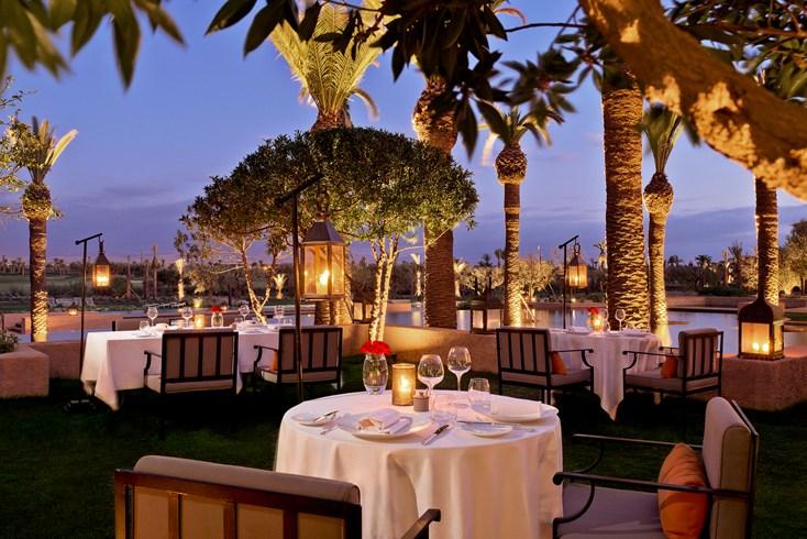 Royal Palm Marrakech terrace