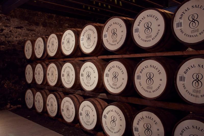 Royal Salute - The Eternal Reserve 2015 casks
