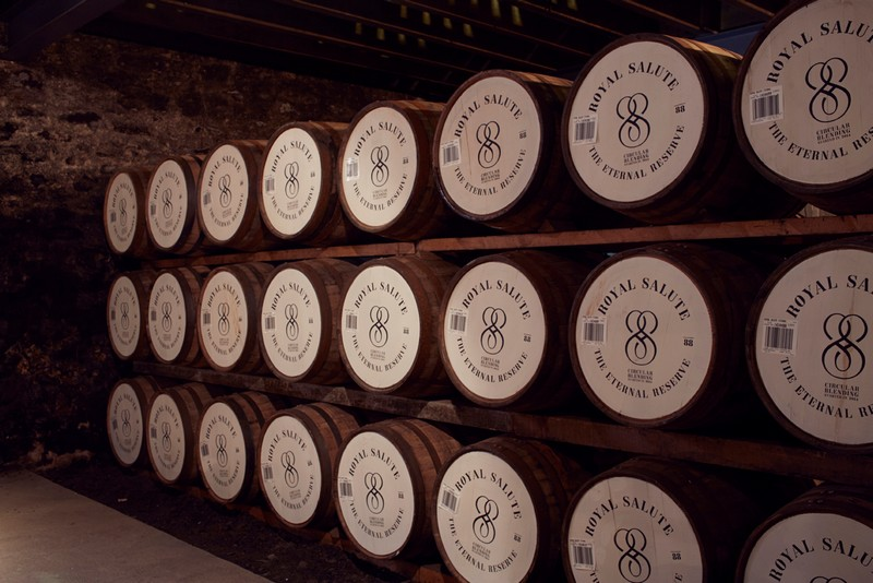 Royal Salute - The Eternal Reserve 2015 casks
