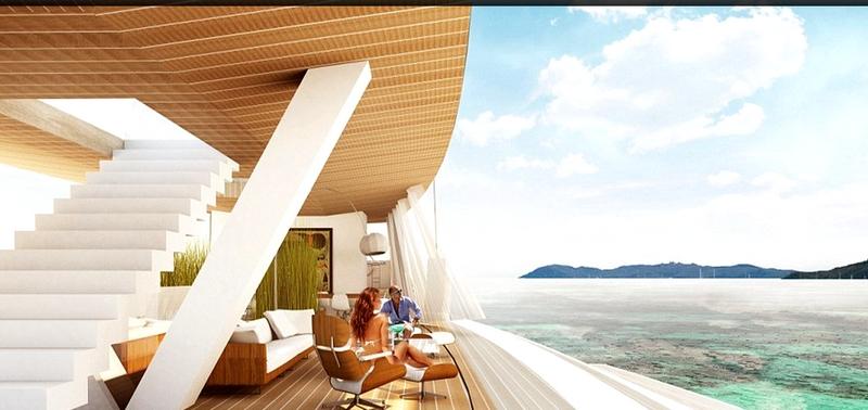 SALT _ Glass sailing yacht concept by Lujac Desautel-