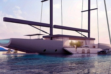 SALT – a dreamy glass sailing yacht concept by Lujac Desautel