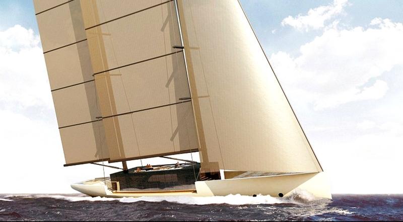 SALT _ Glass sailing yacht concept by Lujac Desautel--superyacht concept