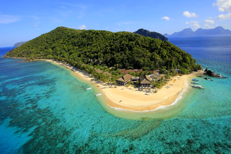 SLH's Top Private Island Hotels -Pangulasian Island Resort in El Nido, Philippines