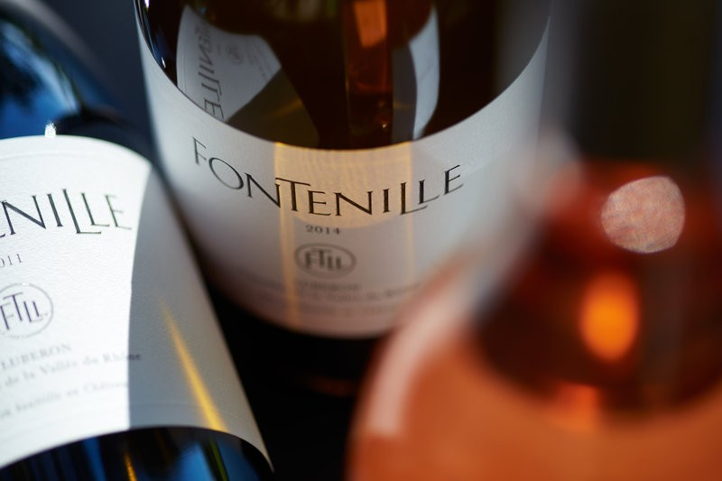 SLH small luxury hotels of the world 2016 - Domaine de Fontenille wines