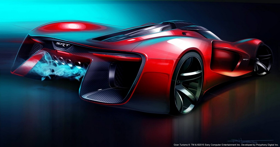 SRT Tomahawk Vision Gran Turismo-