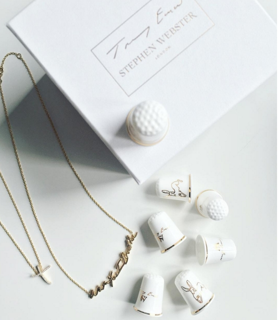 STEPHEN WEBSTER X TRACEY EMIN Ipromis to love you collection-