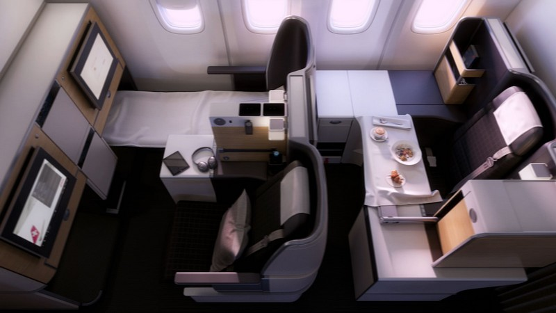 SWISS unveiled the cabin and route network for its new flagship Boeing 777-300ER
