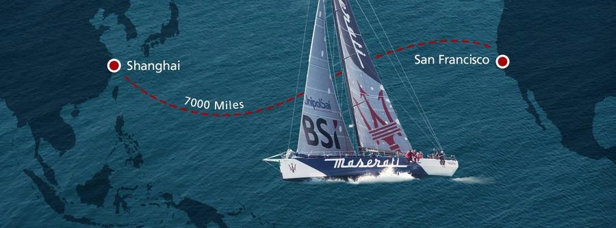 Sail with Giovani Soldini