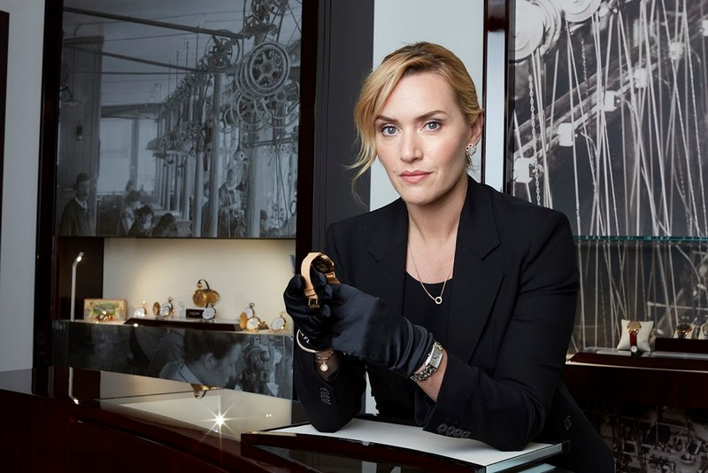Saint-Imier - Longines and Kate Winslet to re-issue a special watch for the Golden Hat Foundation-2016--