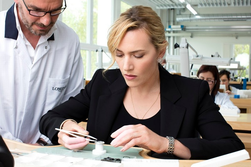 Saint-Imier - Longines and Kate Winslet to re-issue a special watch for the Golden Hat Foundation-2016-watchmaking