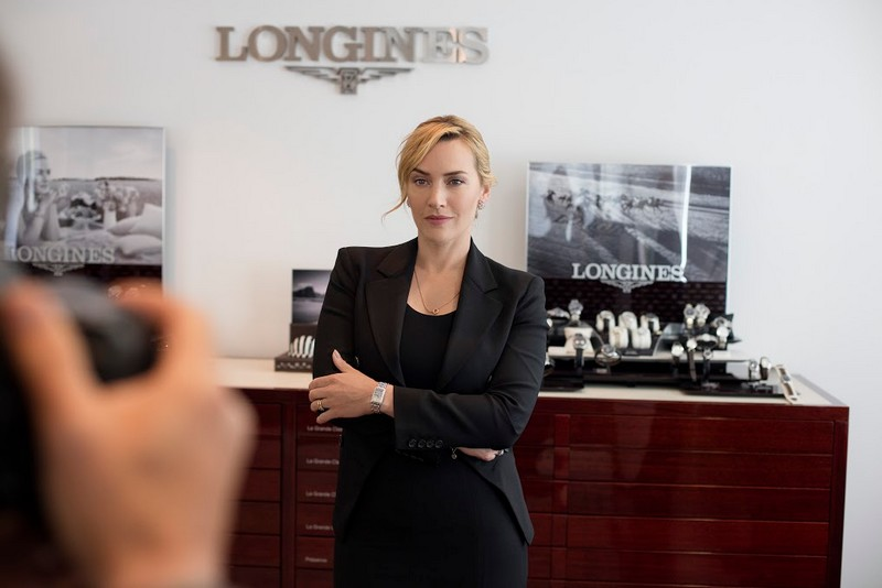 Saint-Imier - Longines and Kate Winslet to re-issue a special watch for the Golden Hat Foundation-2016