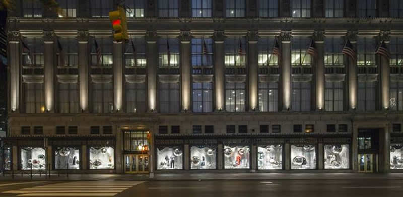 Saks Fifth Avenue flagship store in New York