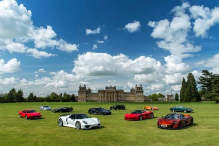 Tramontana R, Toroidion 1MW Concept, Cisitalia 202 SMM Nuvolari Spyder and other debuts at Salon Privé 2015