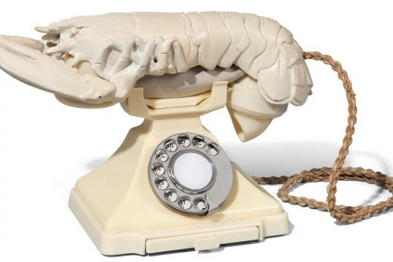 Salvador Dalí's lobster telephone and Mae West lips sofa to be sold at auction