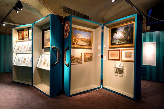 Salvatore Ferragamo A Palace and the City exhibition 2015-