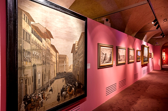 Salvatore Ferragamo A Palace and the City exhibition 2015--