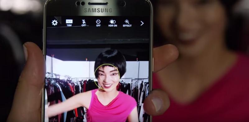 Samsung 2015 Fall Lookbook Behind-the-Scenes-