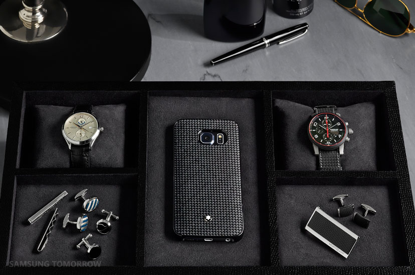 Samsung Accessories_2015 designers covers - Montblanc