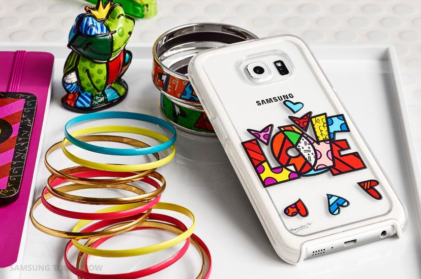 Samsung Accessories_2015 designers covers -Romero Britto