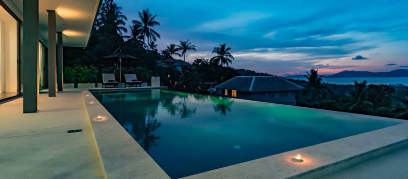Samuit Thailand Bophut 3 BEDROOM VILLA WITH STUNNING SEA VIEW