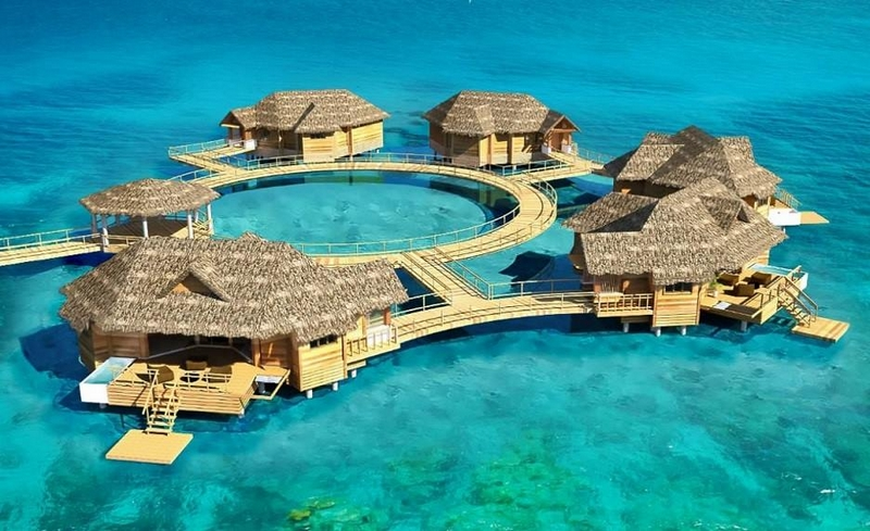 Sandals Royal's first over-the-water suites offer the full experience of living on the ocean
