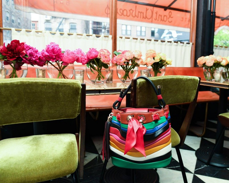 #SaraBattaglia's handbag collaboration with #Ferragamo