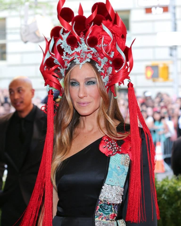 Sarah Jessica Parker wearing CINDY CHAO