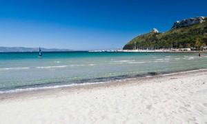 Sardinia Poetto Beach