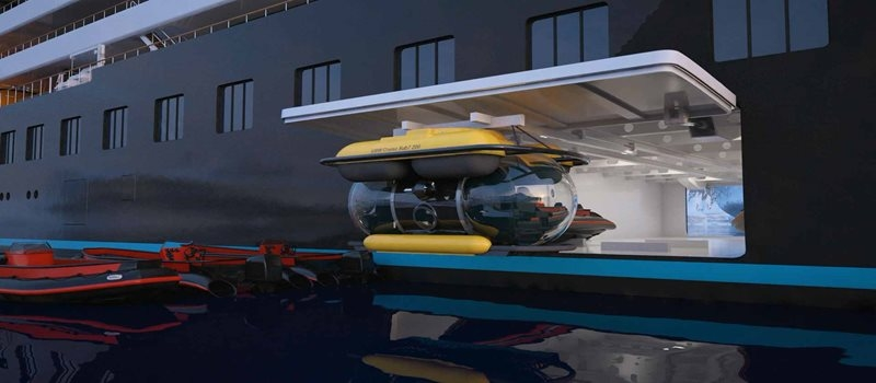 Scenic has announced the launch of the world's First Discovery Yacht, the Scenic Eclipse-watertoys