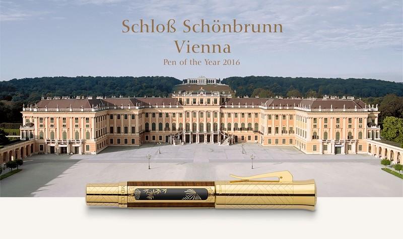 Schloss Schonbrunn, Vienna Pen of the Year 2016 -graffvon faber-castell
