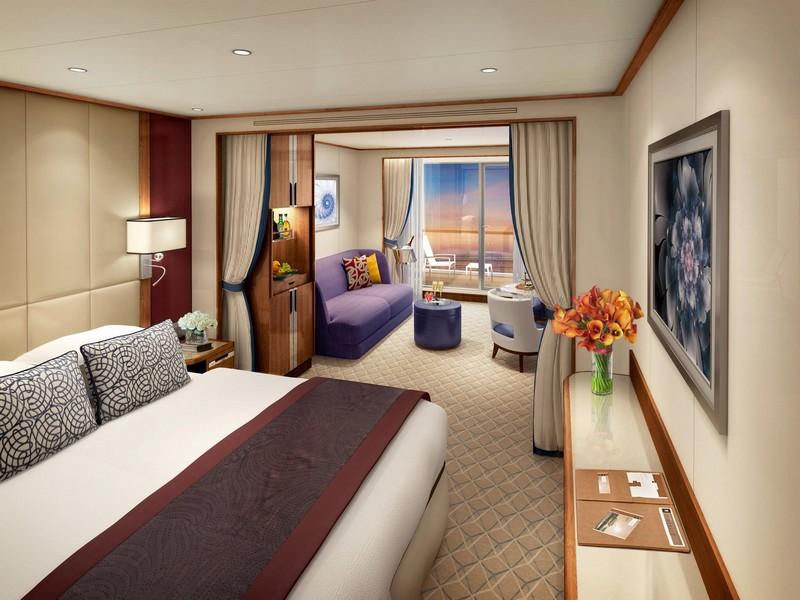 Seabourn Luxury Suites On New Seabourn Encore - Veranda Suite