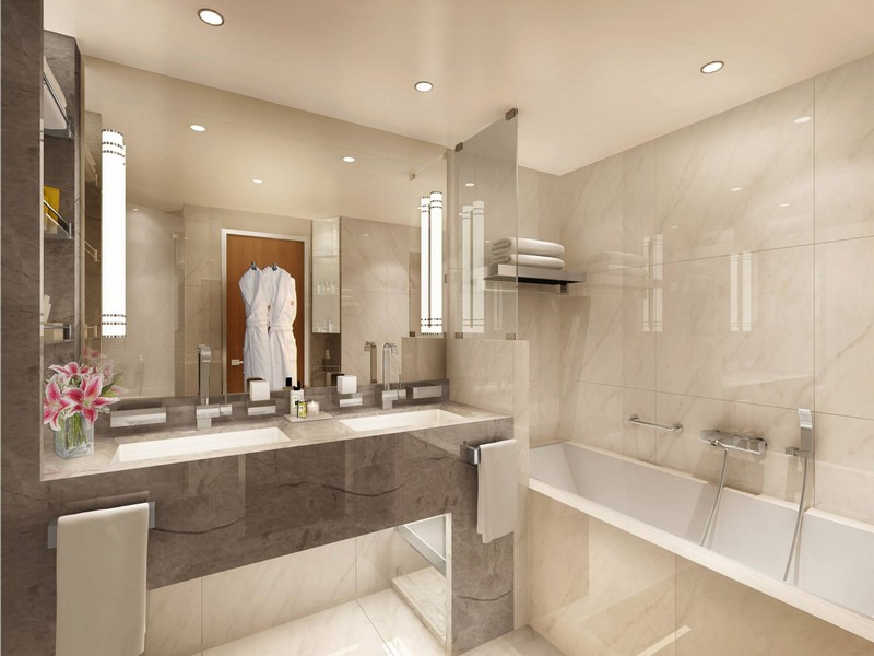 Seabourn Luxury Suites On New Seabourn Encore - Veranda bathroom