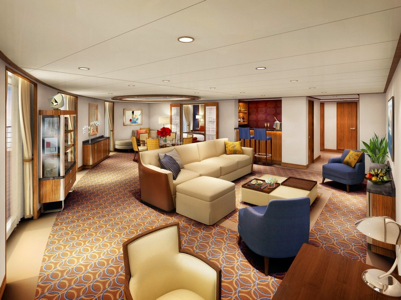Seabourn Unveiled Well-Appointed Suites On New Seabourn Encore