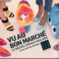 Seen at Le Bon Marche ad campaign 2015