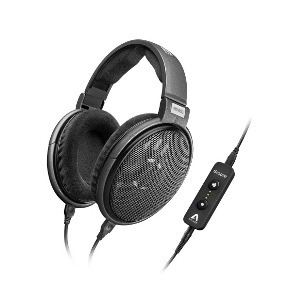 Sennheiser hd650_the Apogee Groove high-performance USB DAC and headphone amp-
