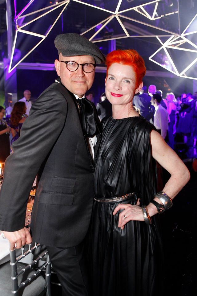 Set Desginer Simon Costin und Kostümdesignerin und Oscar Preisträgerin Sandy Powell