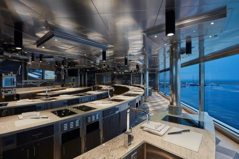 SevenSeasExplorer Culinary Arts Kitchen