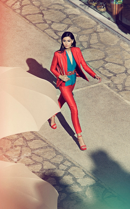 Shanghai Tang SS 2015 ad campaign Capri Italy-
