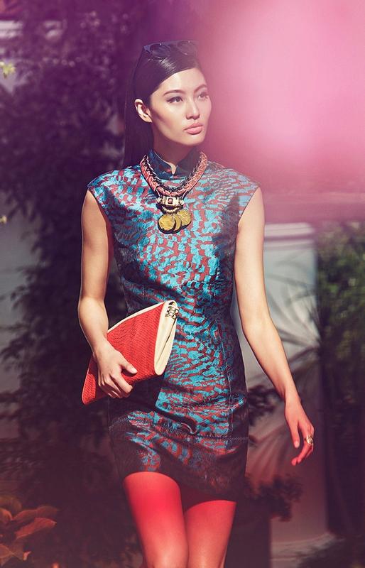 Shanghai Tang SS 2015 ad campaign Capri Italy 2015-