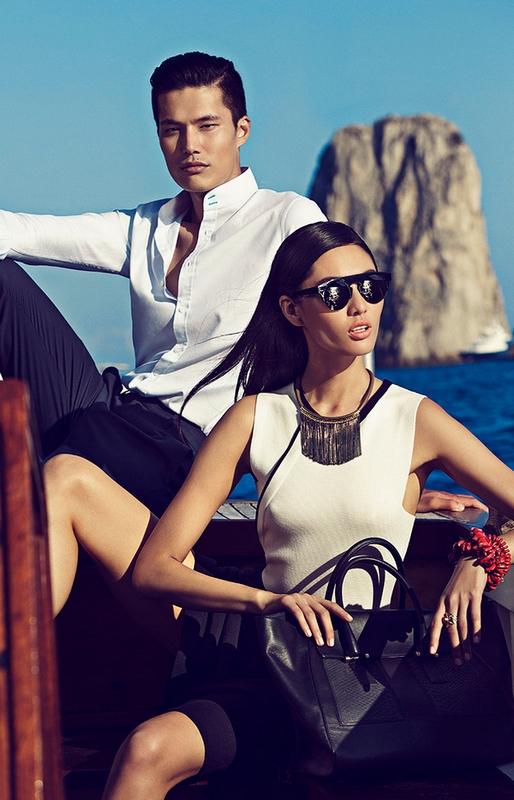 Shanghai Tang SS 2015 ad campaign Capri Italy 2015-002