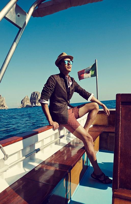 Shanghai Tang SS 2015 ad campaign Capri Italy 2015-004