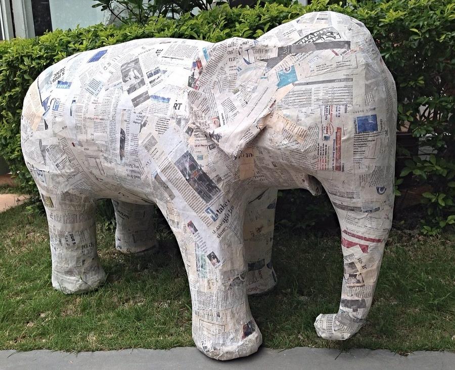 Shangri-La's Hambantota Resort & Spa, Sri Lanka - elephant sculptures