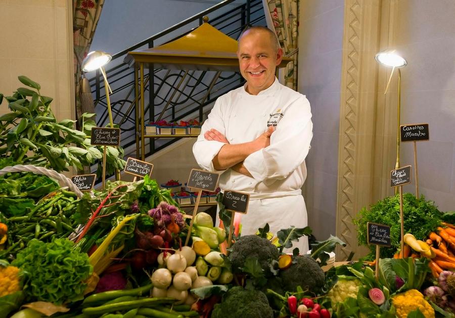 Shangri-la - Chef Christophe Moret