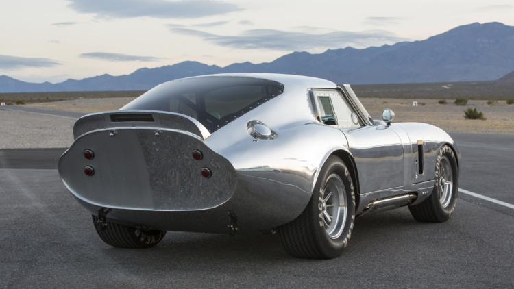 Shelby American announces 50th anniversary Cobra Daytona Coupe Series--aluminium