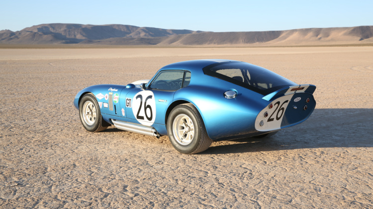 Shelby American announces 50th anniversary Cobra Daytona Coupe Series