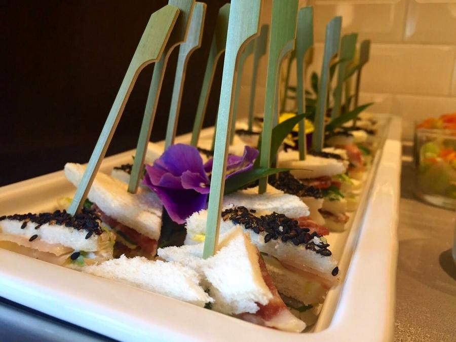 Sheraton Lake Como Hotel 2015 - delicacies