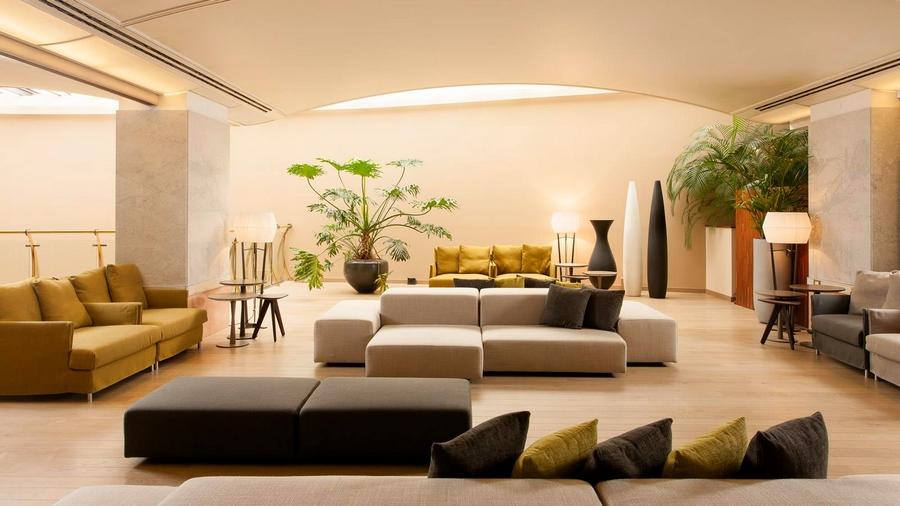 Sheraton Lake Como Hotel 2015 interior