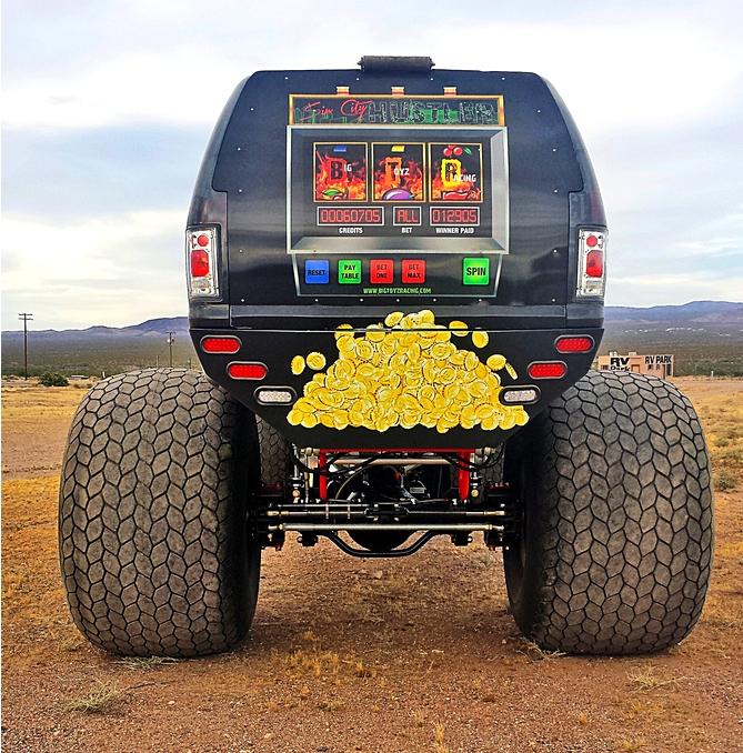 Sin City Hustler - the world's first luxury monster truck--